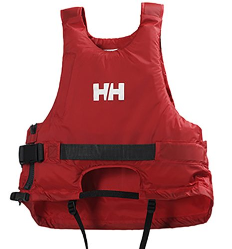 HELLY HANSEN LAUNCH VEST ALERT RED