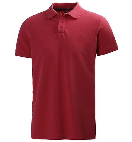 HELLY HANSEN CREW POLO RED