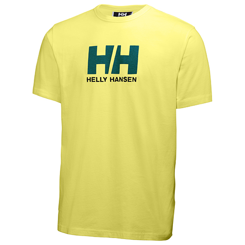 98ad8f585ec6 HELLY HANSEN LOGO T-SHIRT ELECTRIC YELLOW - Helly Hansen